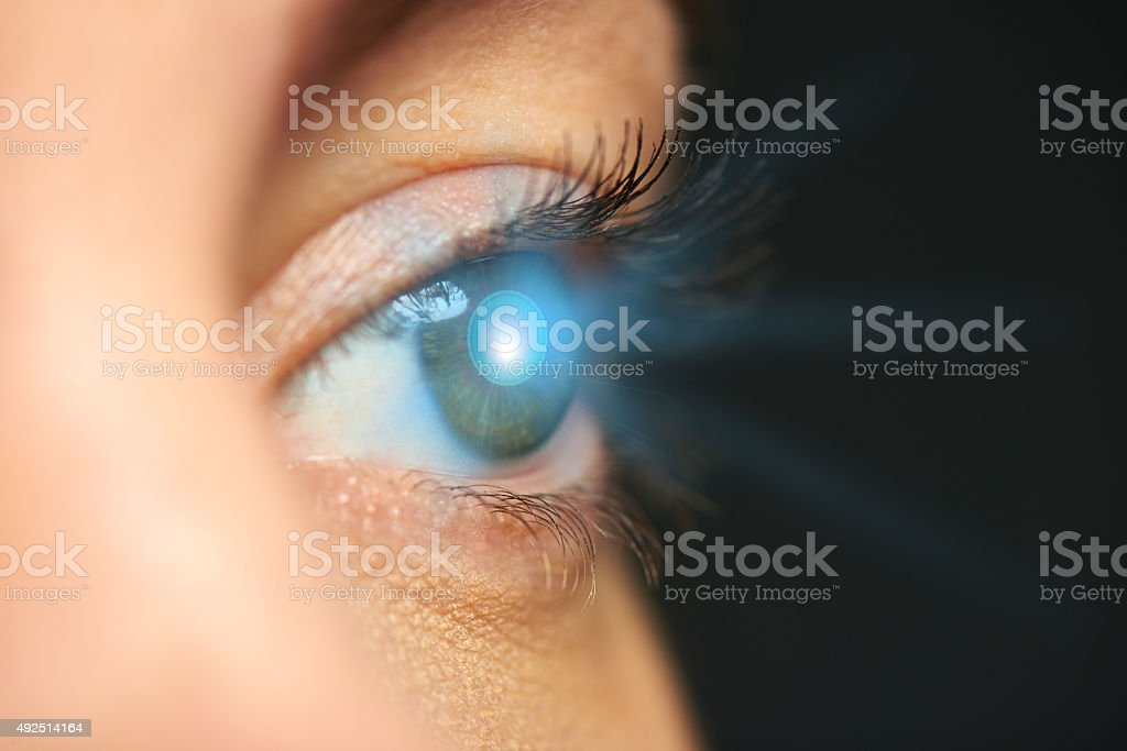 Vision science stock photo
