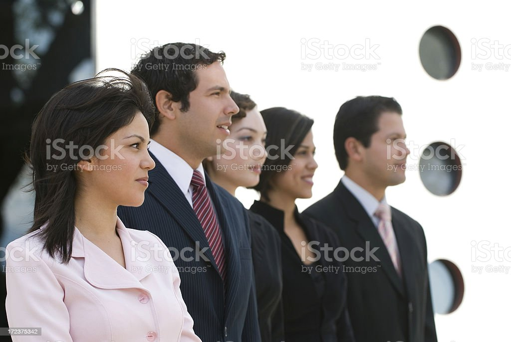 Visionary Business group royalty-free stock photo