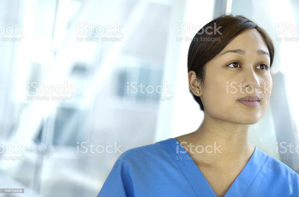 visionary young doctor royalty-free stock photo