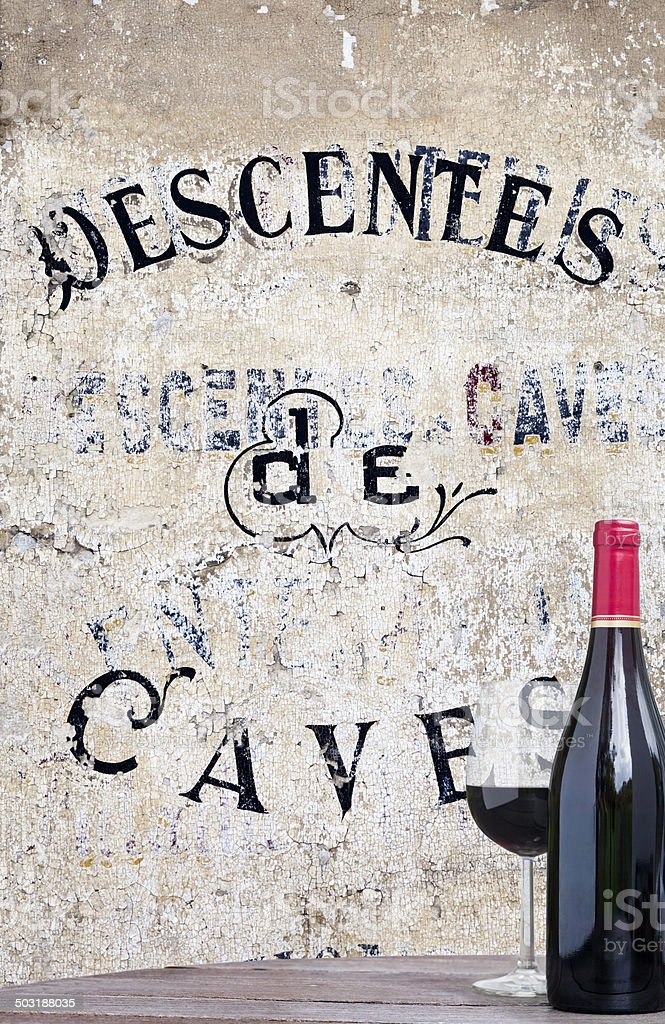 Visit our Wine Cellars royalty-free stock photo