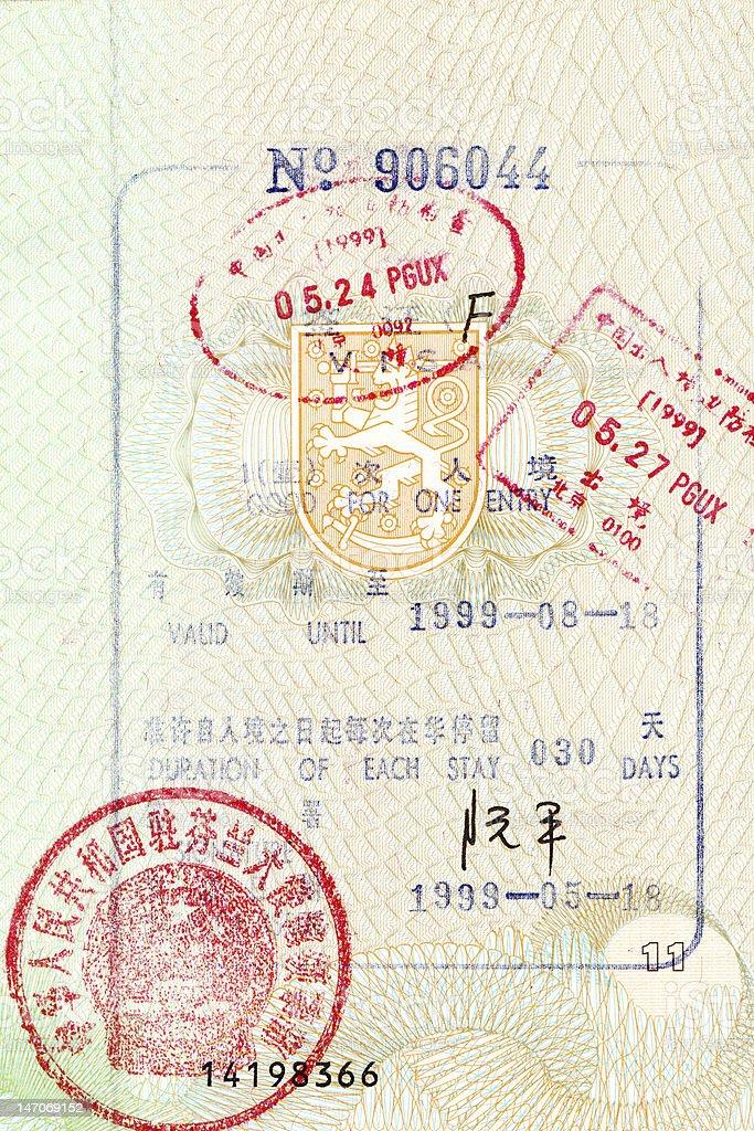 Visit To China stock photo
