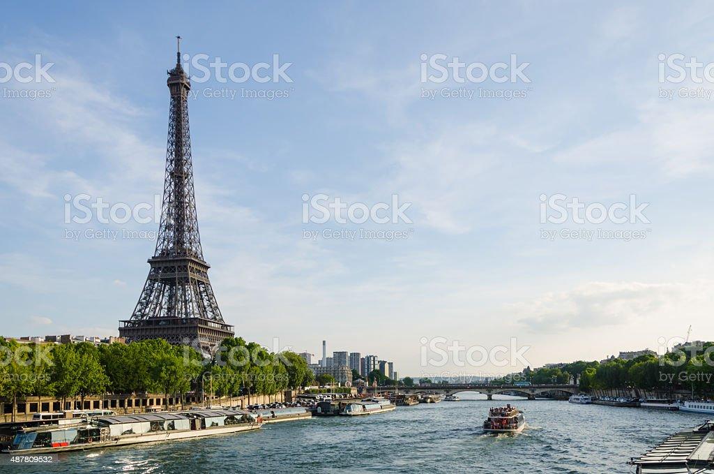 Visite de Paris stock photo