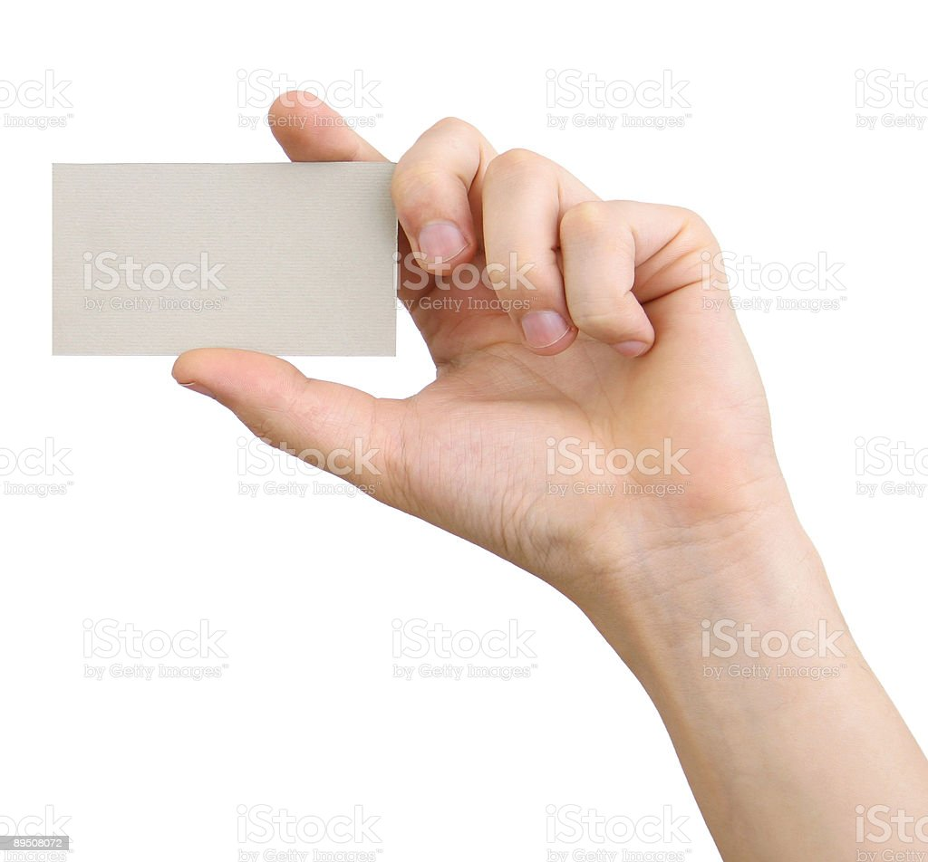 visiting card 2 royalty-free stock photo