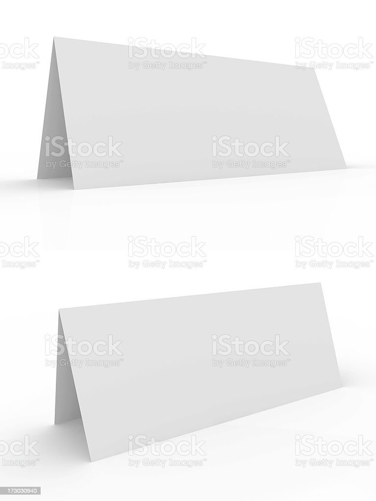 Visiting card royalty-free stock photo