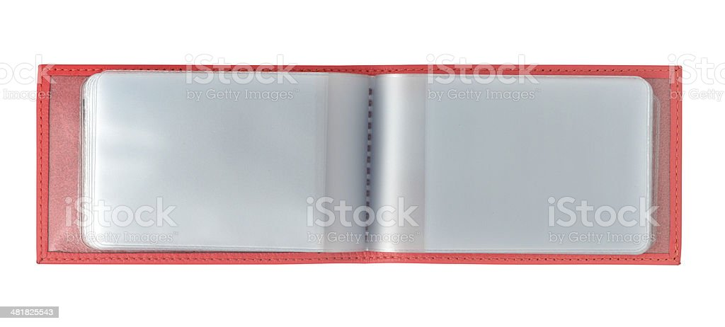 Visiting Cards Holder royalty-free stock photo