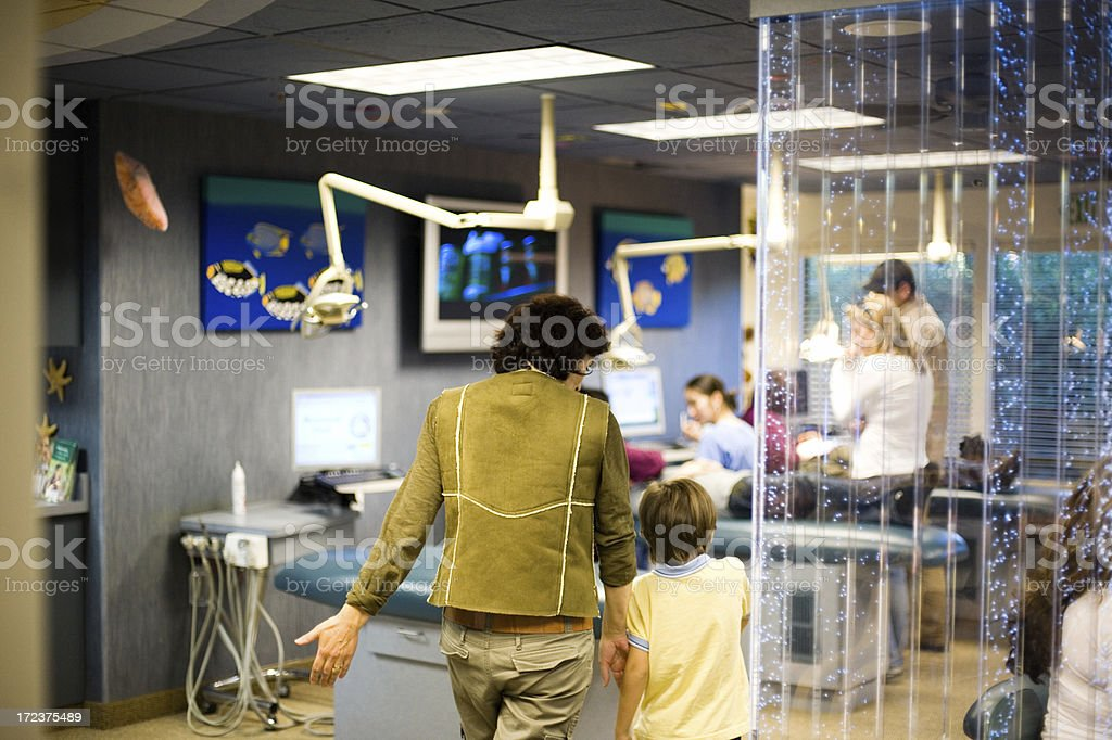 Visiting Doctors Office royalty-free stock photo