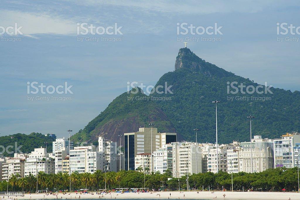 Visiting Rio de Janeiro royalty-free stock photo