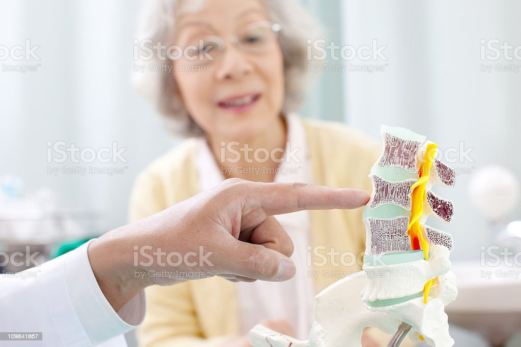 Visiting the Doctor royalty-free stock photo