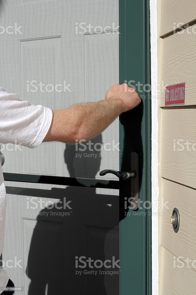 Visiting Time stock photo
