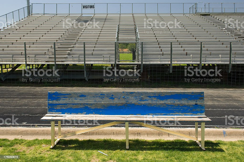 Visitor's Bench royalty-free stock photo