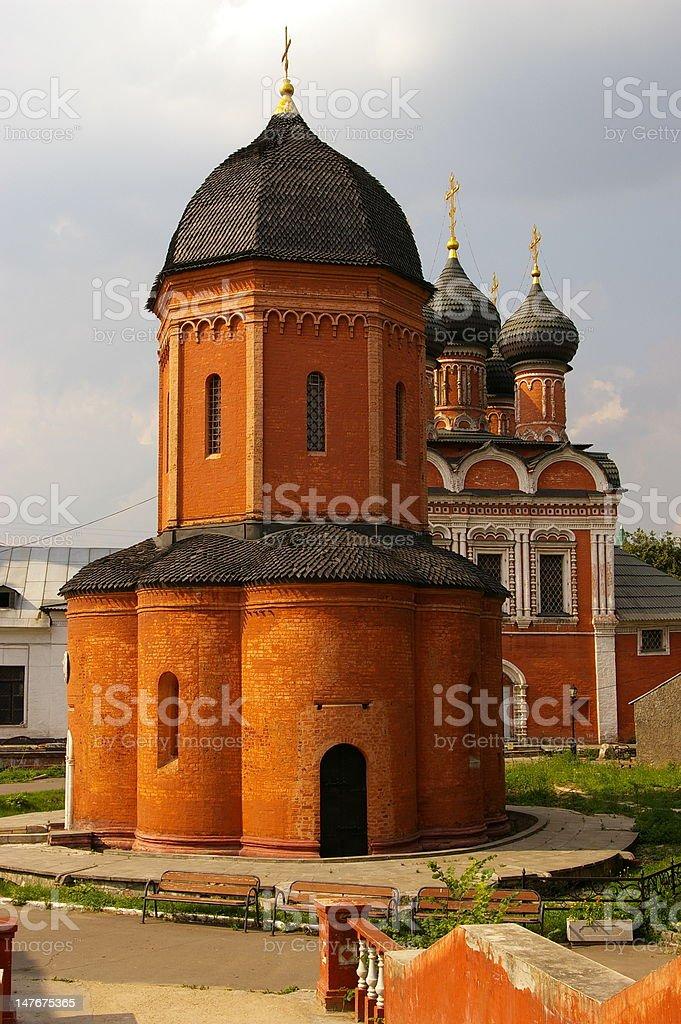 Visoko-Petrovskii Monastery royalty-free stock photo