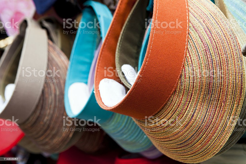 Visors stock photo