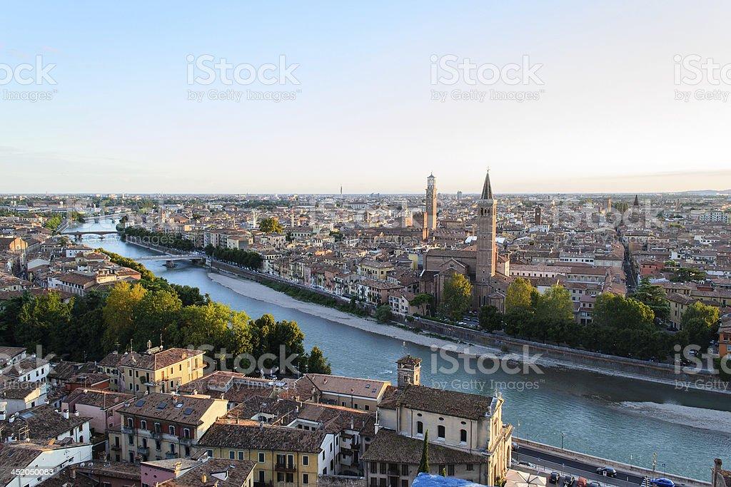 Vista di Verona stock photo