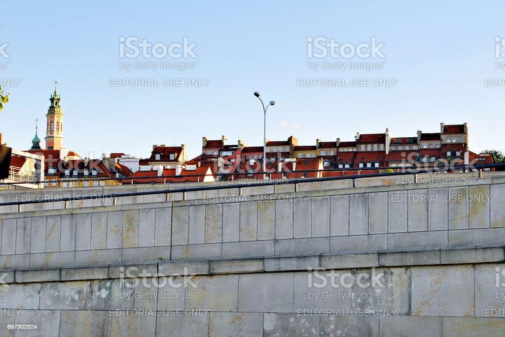 Vistulan Boulevards stock photo