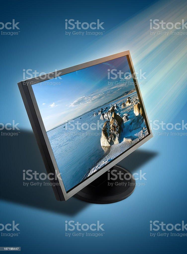 Visual screen royalty-free stock photo