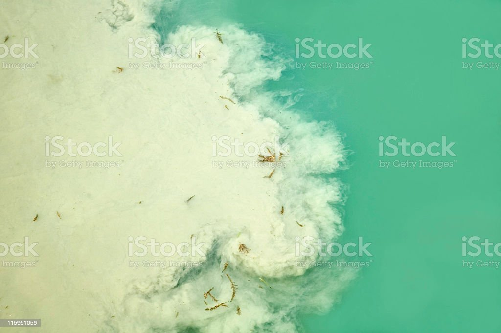Visual Water Pollution royalty-free stock photo