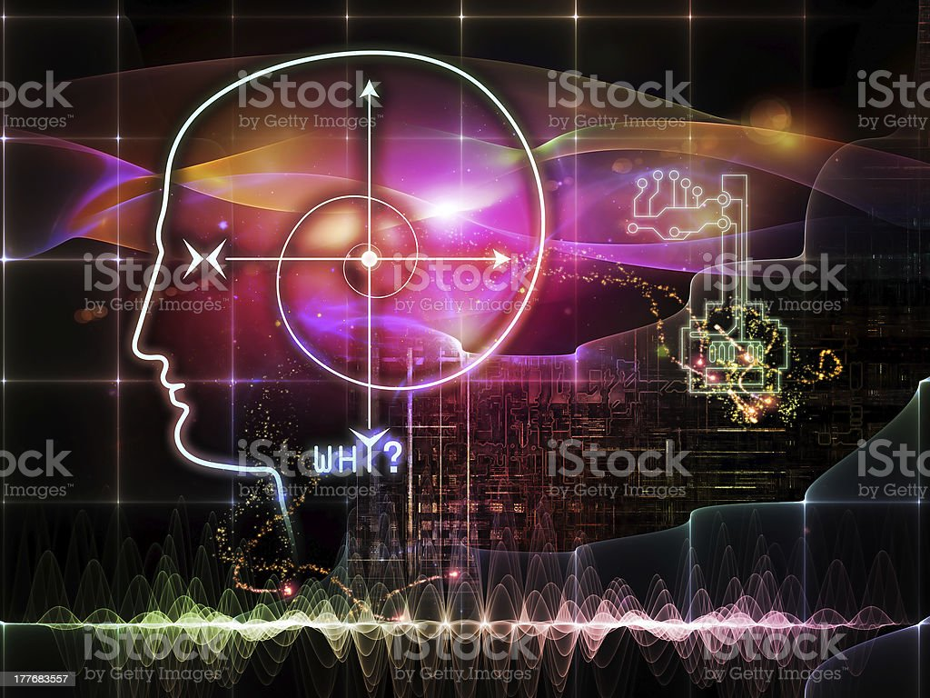 Visualization of Key Concept royalty-free stock vector art