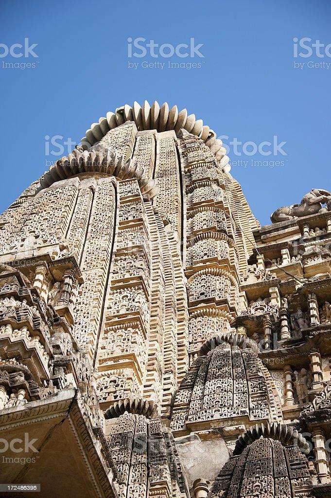 Visvanatha Temple. Khajuraho. royalty-free stock photo