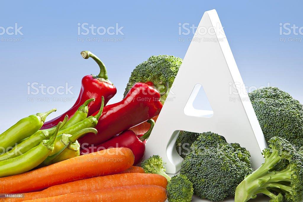 Vitamin A stock photo
