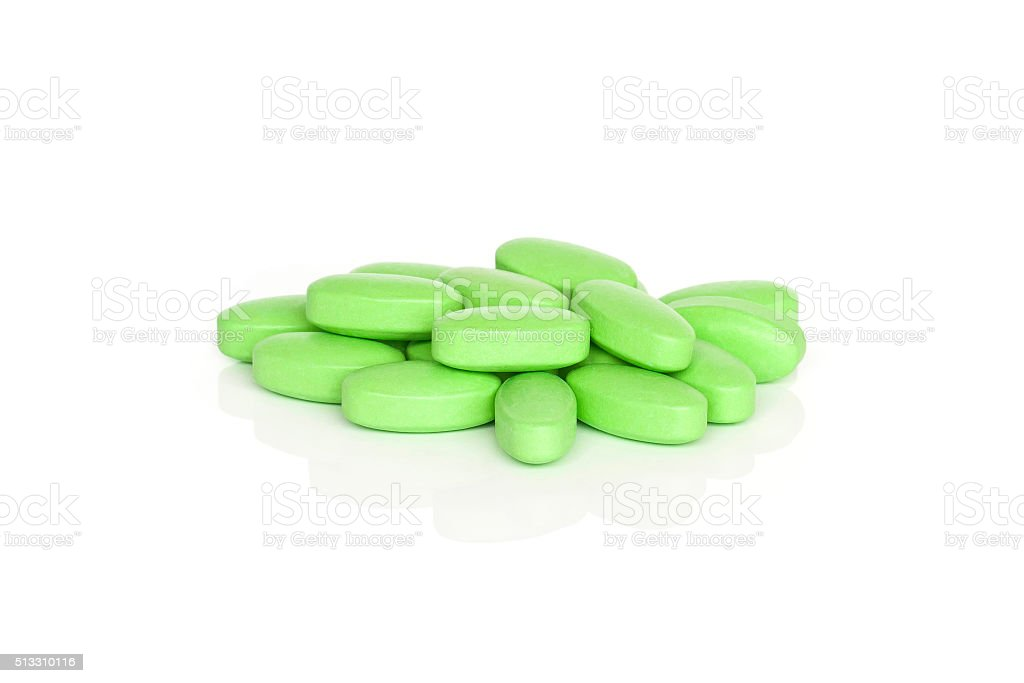 Vitamin B Tablet-Zusatzpräparate – Foto
