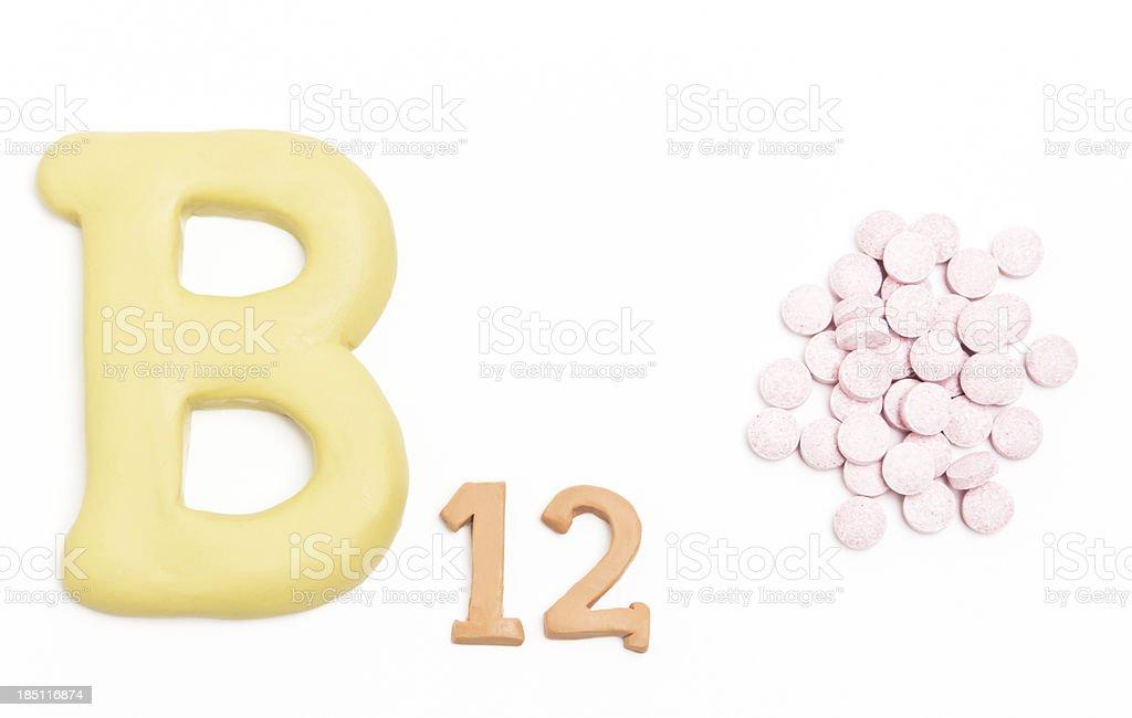 Vitamin B12 royalty-free stock photo