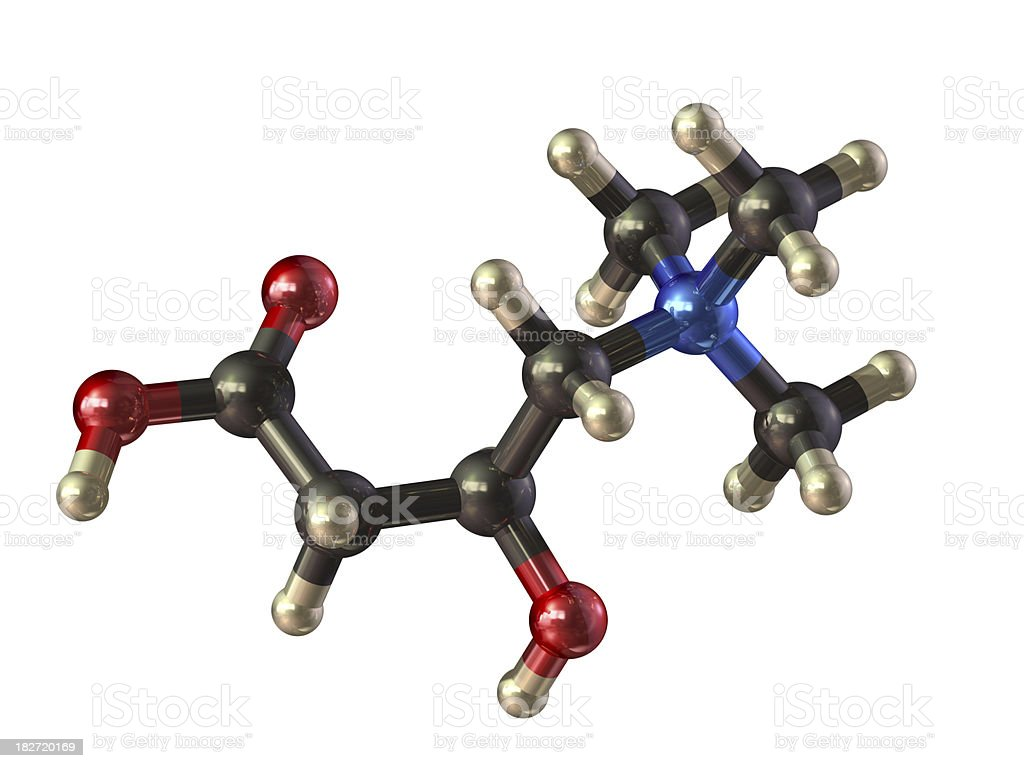 Vitamin Bt Model stock photo