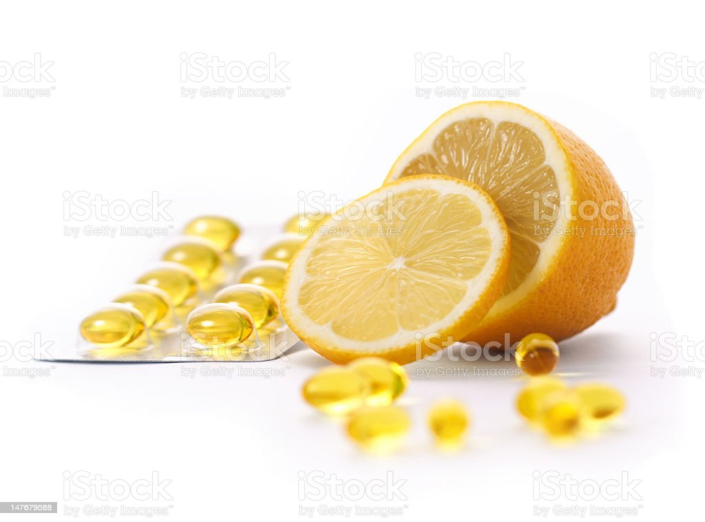 vitamin C royalty-free stock photo
