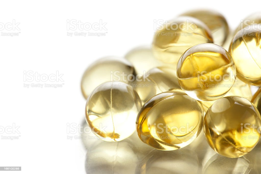 Vitamin Capsule royalty-free stock photo
