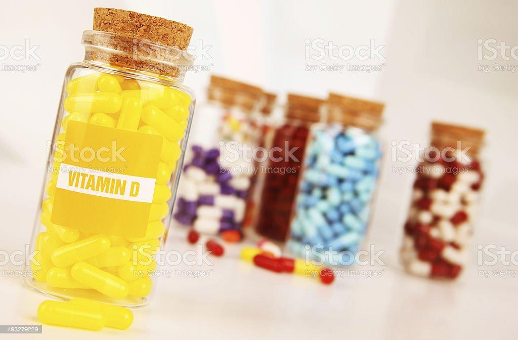 Vitamin D royalty-free stock photo