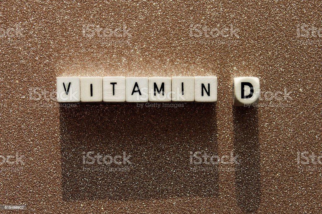 Vitamin D stock photo