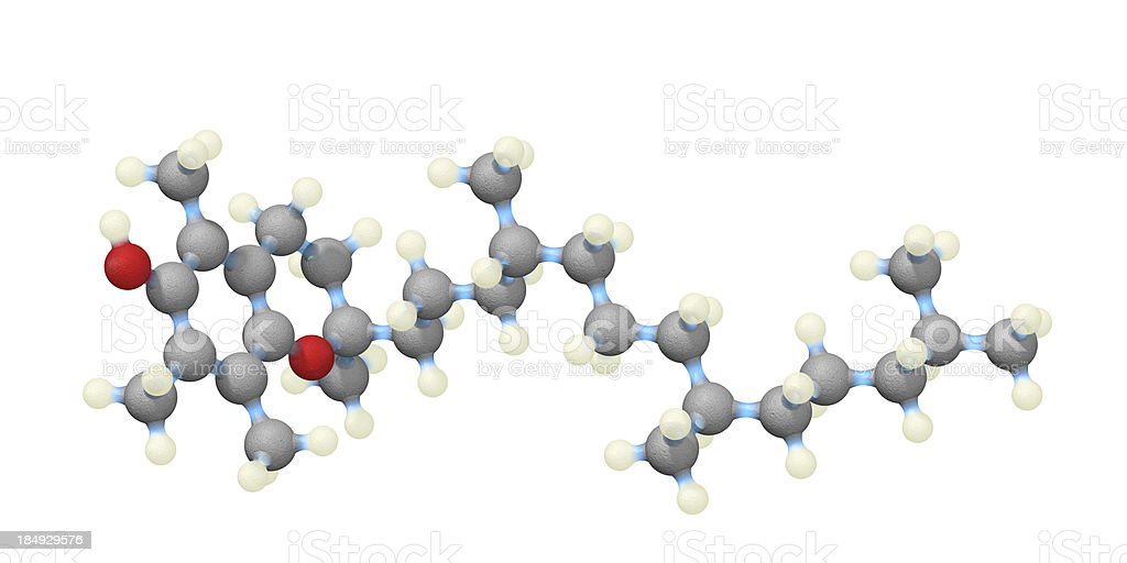 Vitamin E stock photo