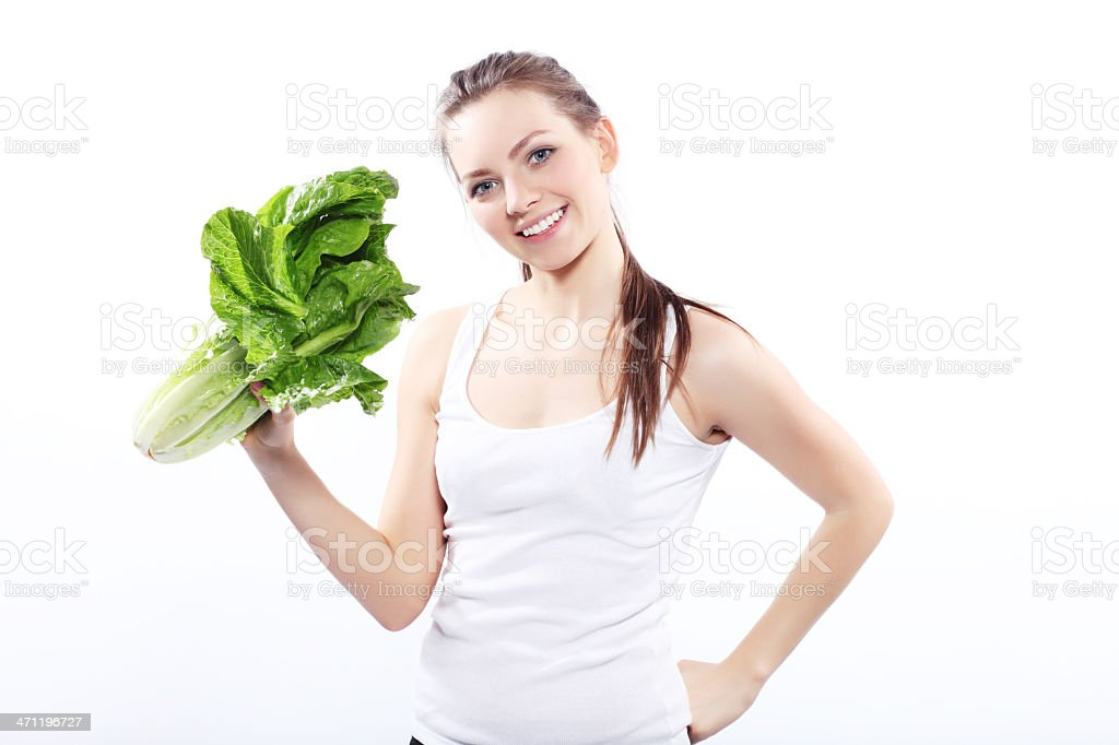 Vitamin Girl! royalty-free stock photo