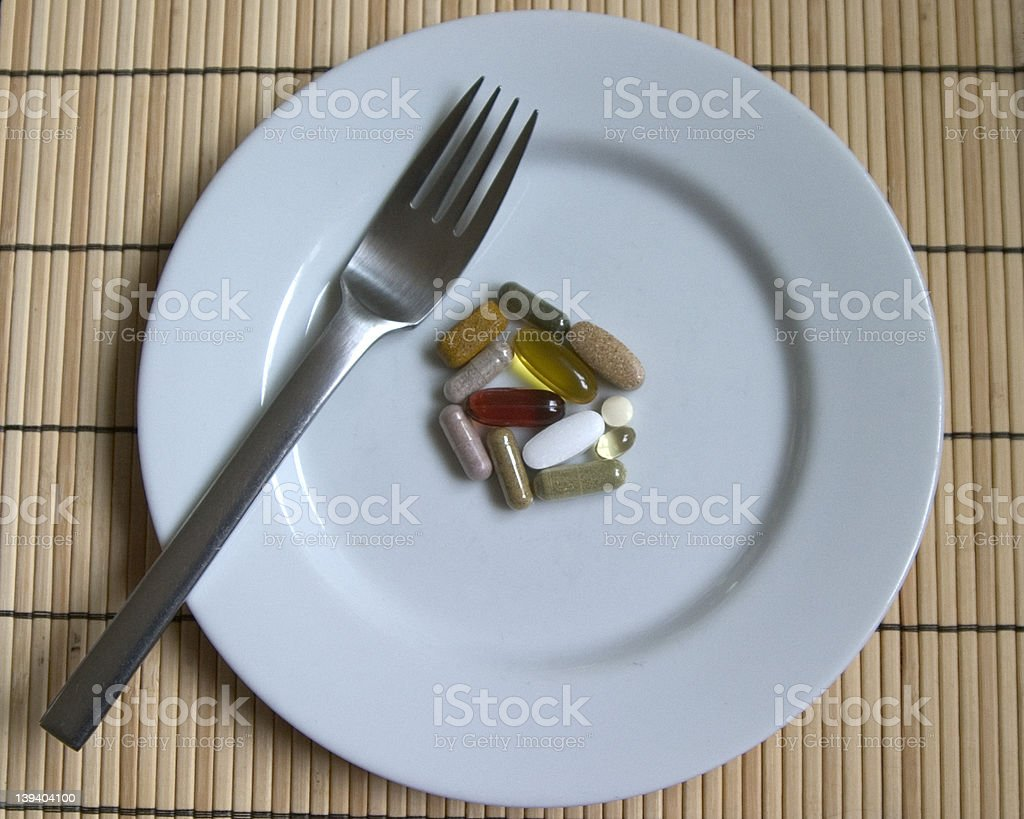 vitamin meal royalty-free stock photo