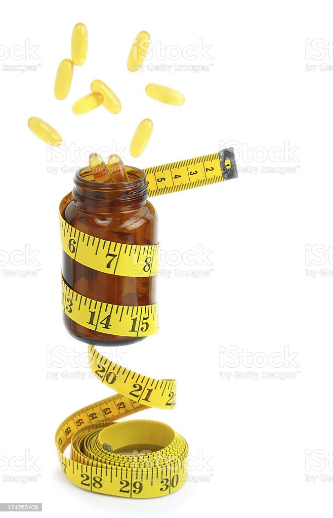 Vitamin Omega 3 fish oil capsules royalty-free stock photo