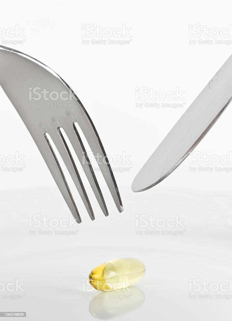 Vitamin royalty-free stock photo
