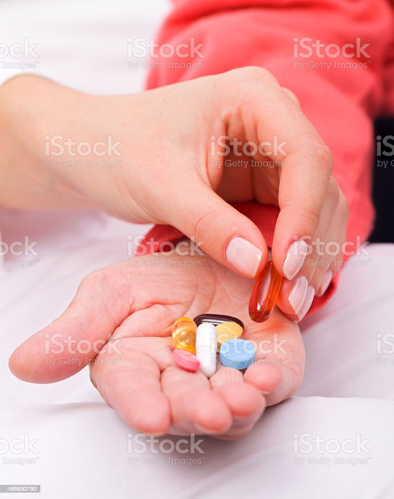 Vitamin stock photo
