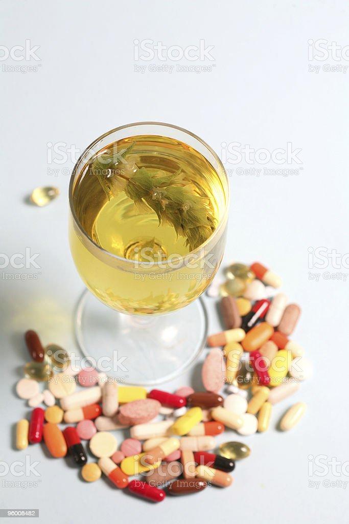 vitamin pill royalty-free stock photo