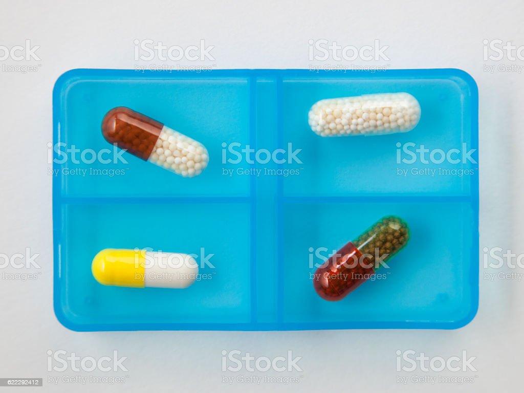 Vitamin supplement stock photo