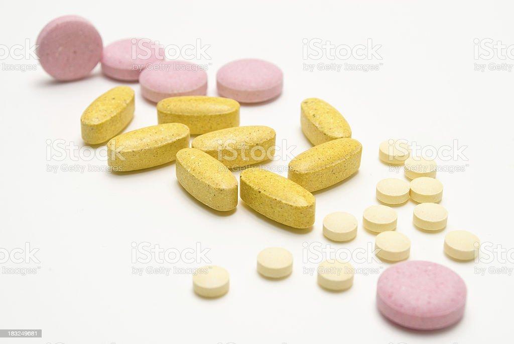 Vitamin Supplements stock photo