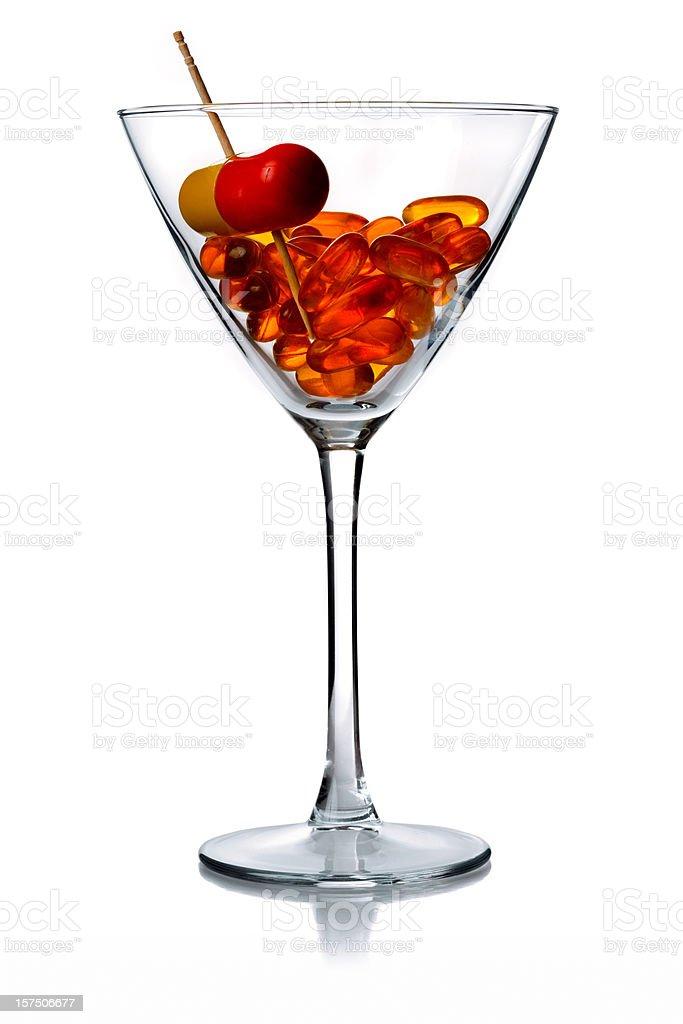 vitamine martini royalty-free stock photo