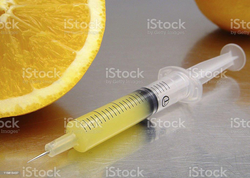 Vitamine shot royalty-free stock photo