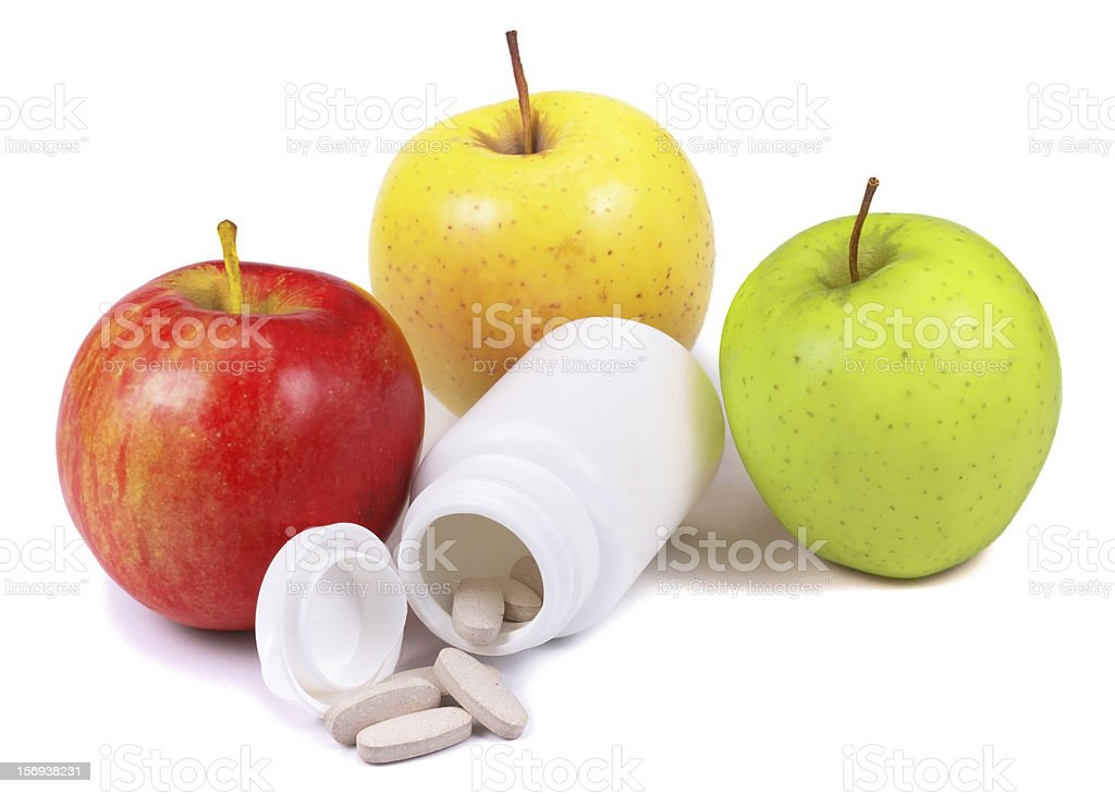 Vitamines royalty-free stock photo