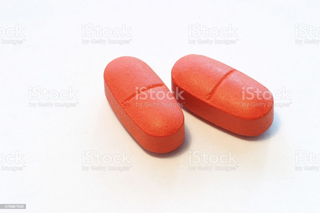 Vitamins Macro royalty-free stock photo