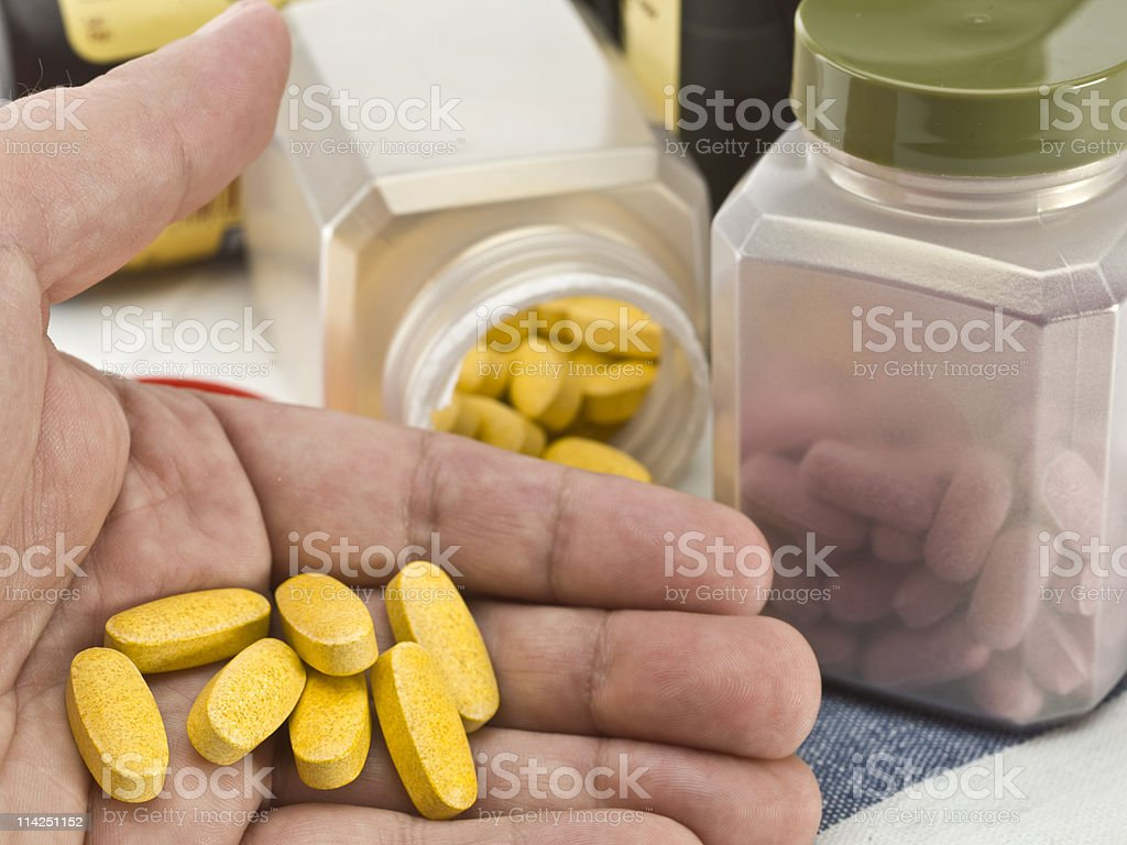Vitamins royalty-free stock photo