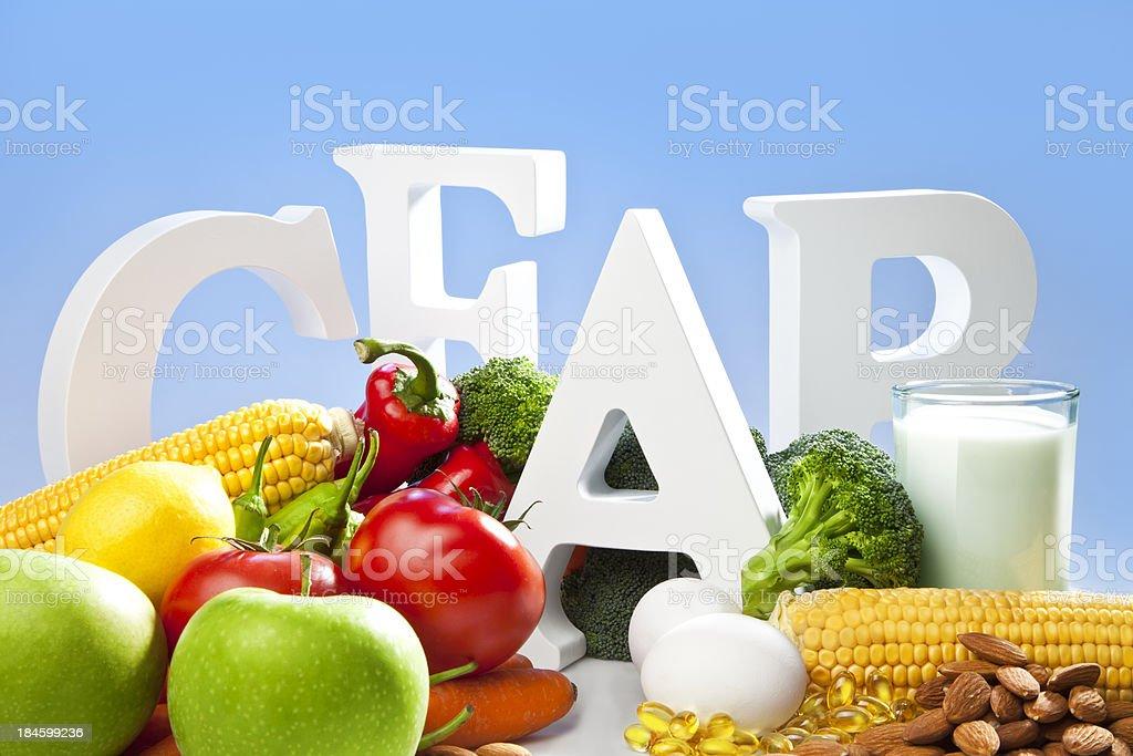 Vitamins royalty-free stock photo