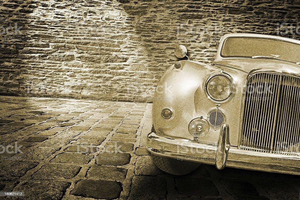 vitange car royalty-free stock photo