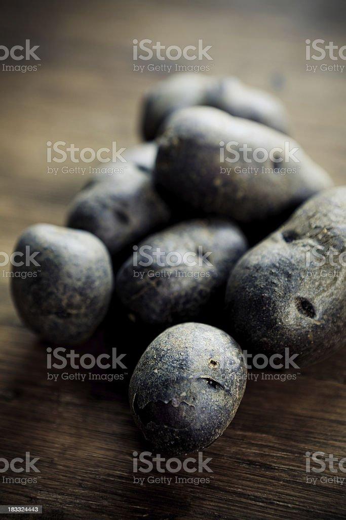 Vitelottes stock photo