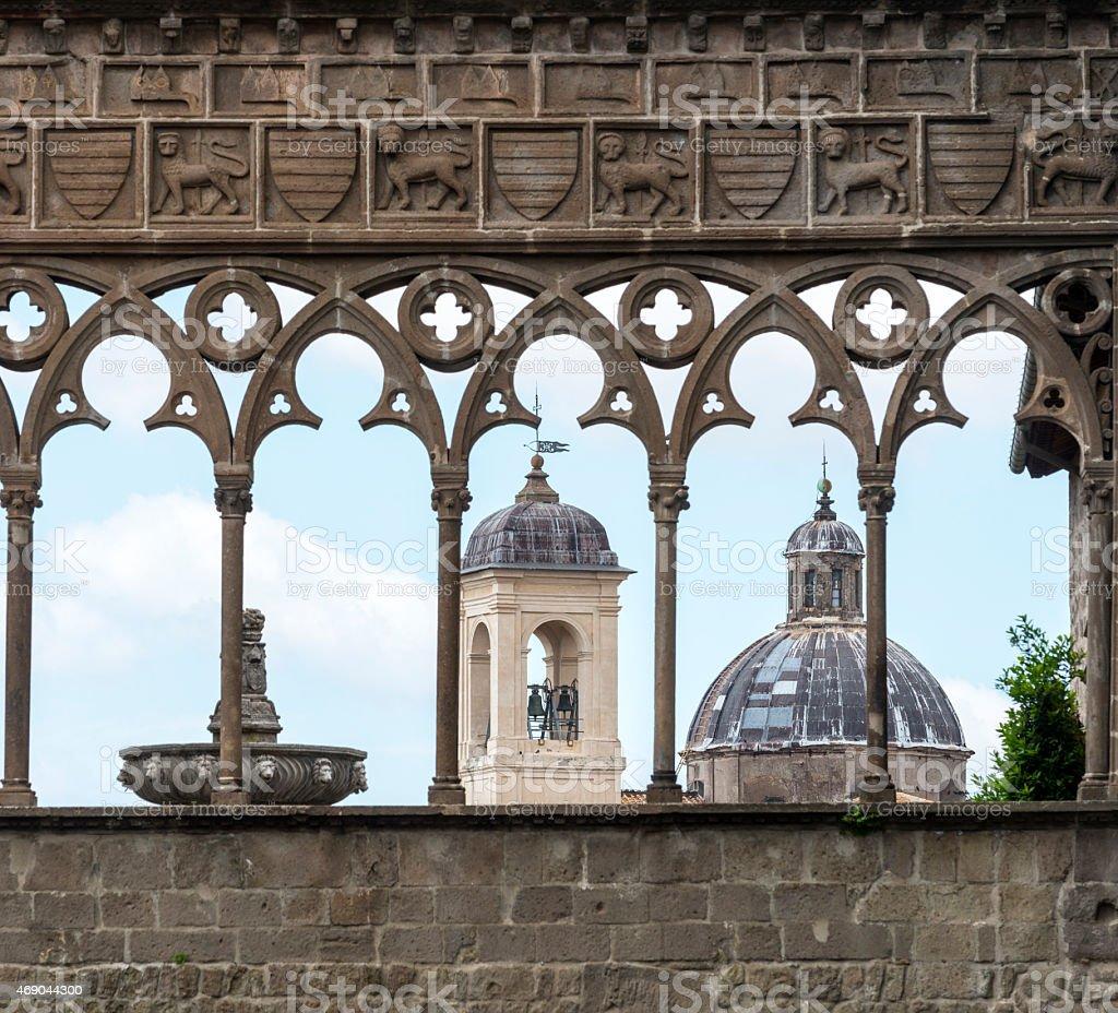Viterbo (Italy) stock photo