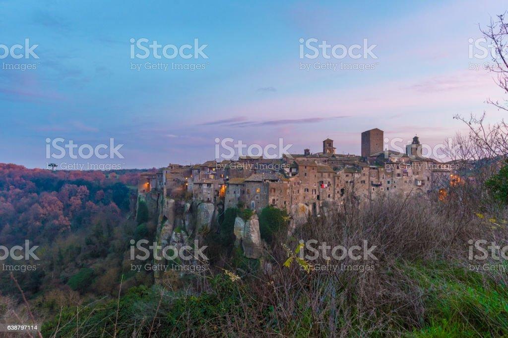 Vitorchiano (Lazio, Italy) stock photo