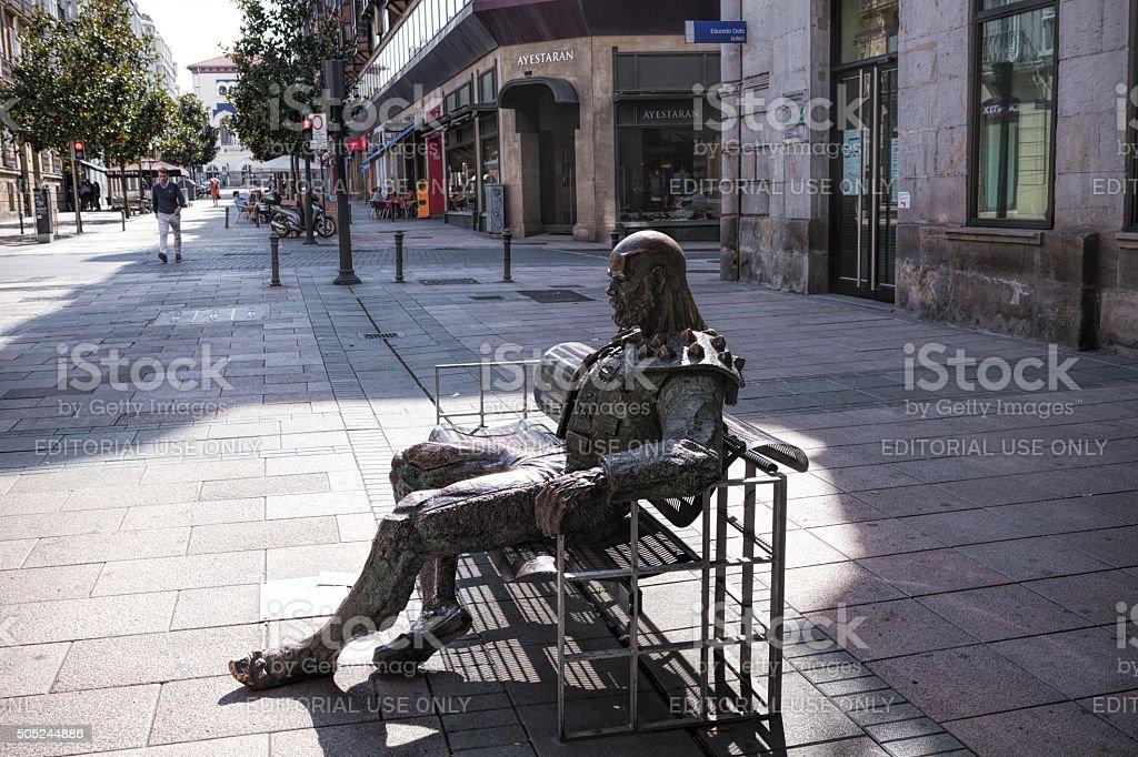 Vitoria-Gasteiz. Spain. stock photo